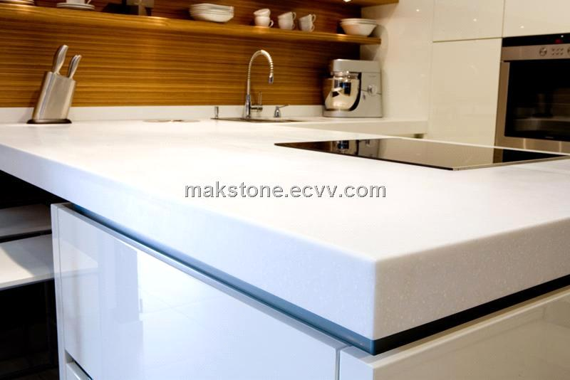 Hi Macs Corian Solid Surface Material Countertop And Kitchen Top