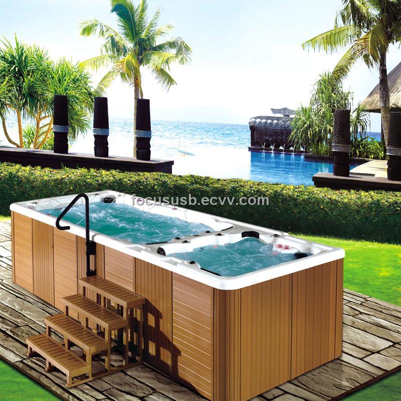 Hyspas Luxury Garden 6 Meter Outdoor Swim Jacuzzi Hot Tub SPA (HY ...