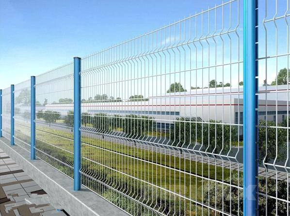 Manufacturer of hot sale cheap pvc coated wire mesh fence