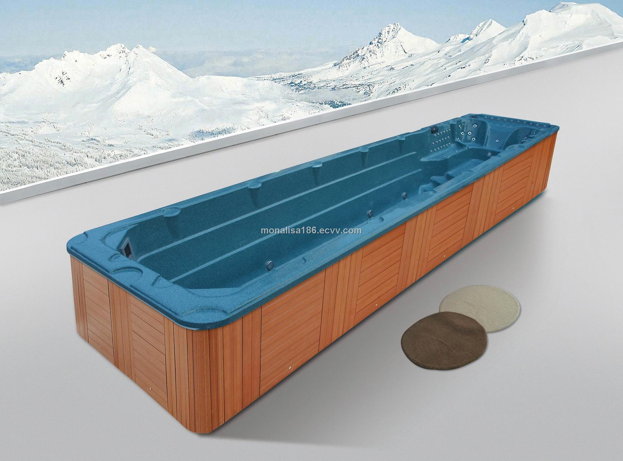 Monalisa all-in-one pool combined with a luxury spa purchasing ...