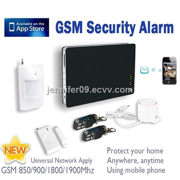 New arrival voice prompt English/German/Spanish/Russian anti-intrusion auto dial gsm alarm system