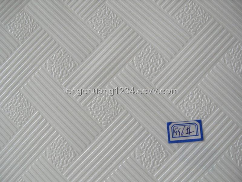 Pvc Laminated Gypsum Ceiling Tilesgypsum Ceiling Tiles Purchasing
