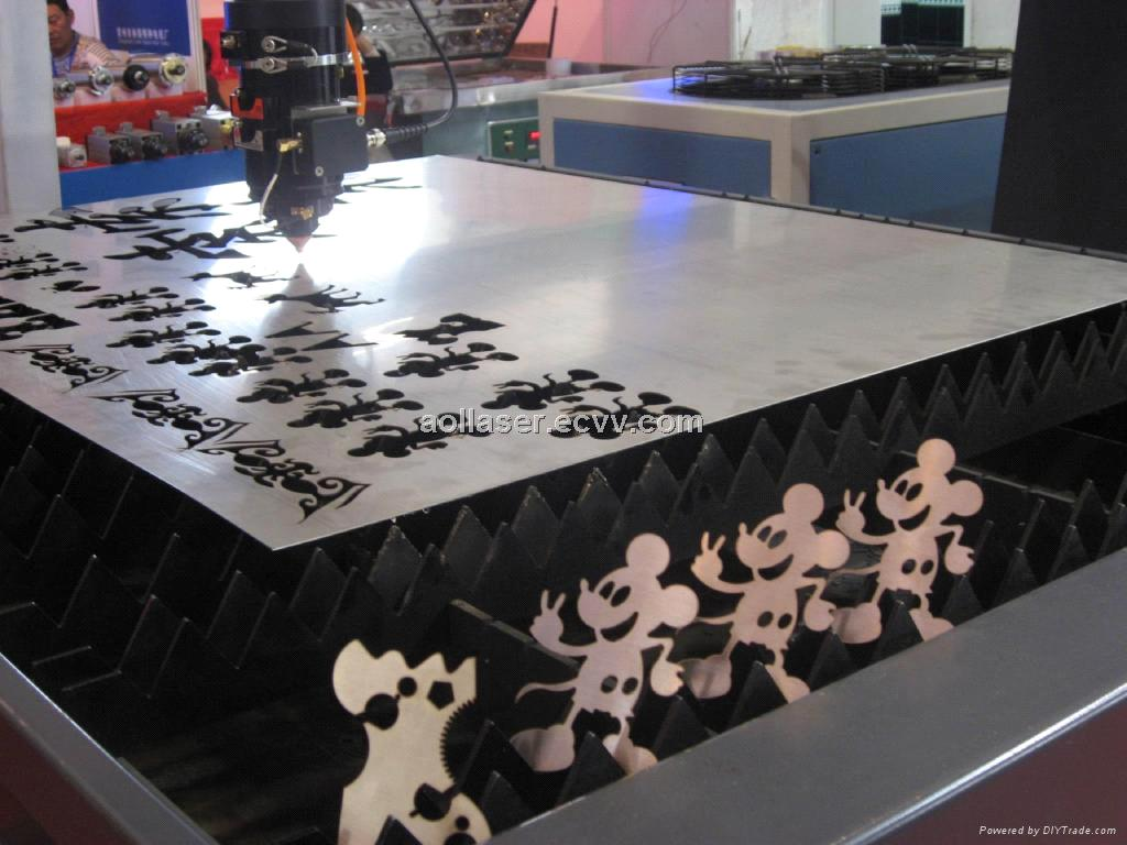 Professional Cnc Metal Fiber Laser Cutting Machine 1kw
