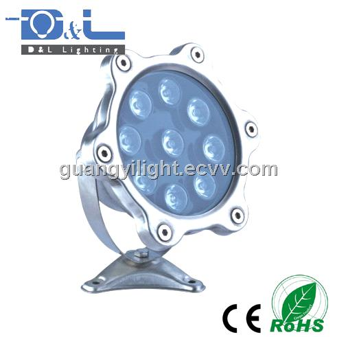 RGB LED Underwater Light 9W High Power chip pool AC24V IP67