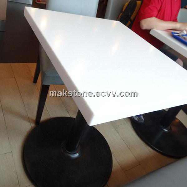 Restaurant Table Top And Corian Artificial Stone Tables Purchasing - Corian restaurant table tops