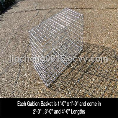 Welded Wire Gabions 2.0 x 0.5 x 0.5 m