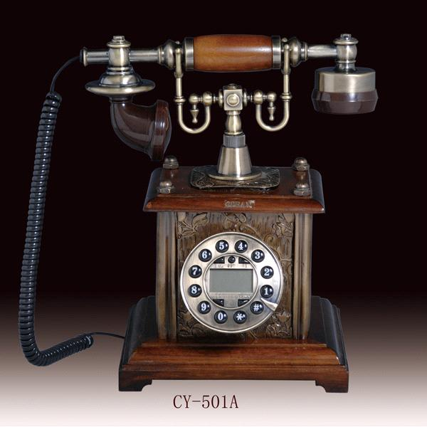 antique telephone,classic telephone,wooden telephone,CY-501A