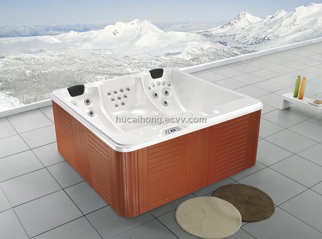 high quality acrylic outdoor massage spa swimming spa swim spa hot ...