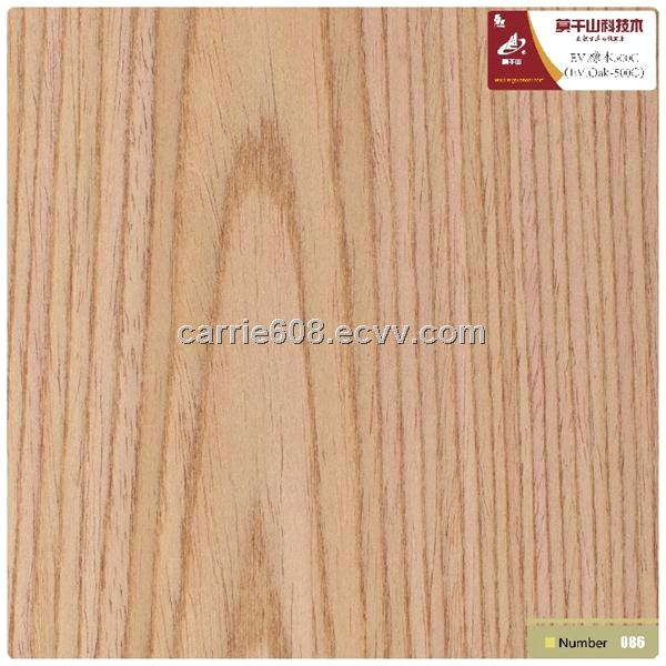 Manufactured Wood Veneer Recon Veneer Oak Crown Cut Flat Cut