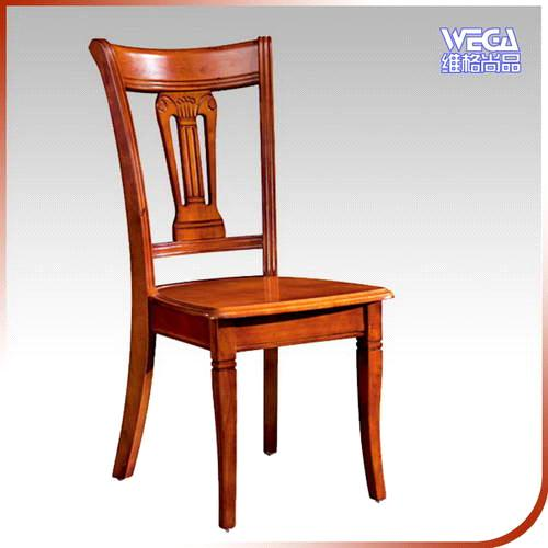 Modern Style Rubber Wood Dining Chair B13