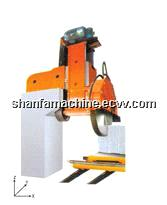stone machine of single-arm built-up saw for granite block