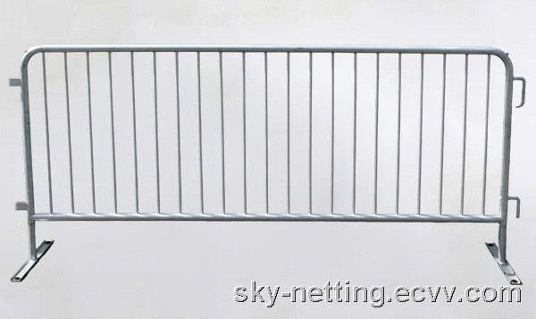 Portable Aluminum Fencing : Event fence modular and portable temporary barrier fully