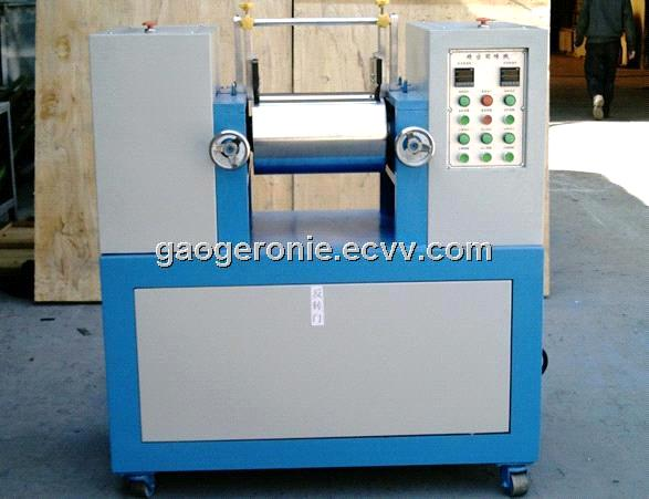 Lab Mixing Mill 2 Roll Mill Rubber And Plastic Testing