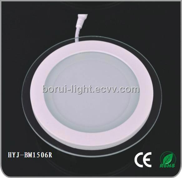 15 Round LED Glass Panel Lamp