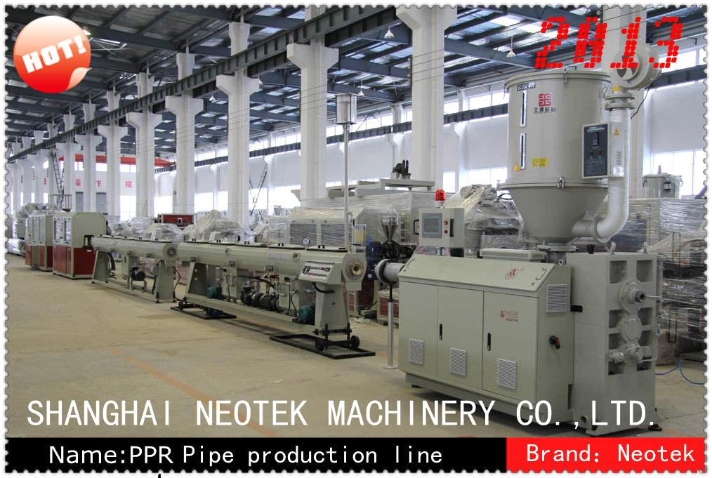 75-160mm PPR Pipe Machinery