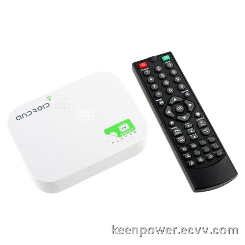 A10 Android TV Box Android 4.0 HDMI RJ45 SD Remote Control 4GB -SB180
