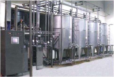 CIP Cleaning System Suitable For Food Industry