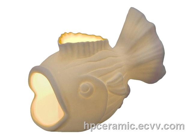 Ceramic Glowing Fish Candle Holder Purchasing Souring