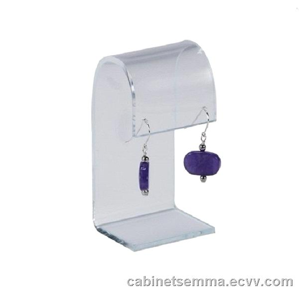 Clear Acrylic Earring Display Stand Perspex Earrings Holder