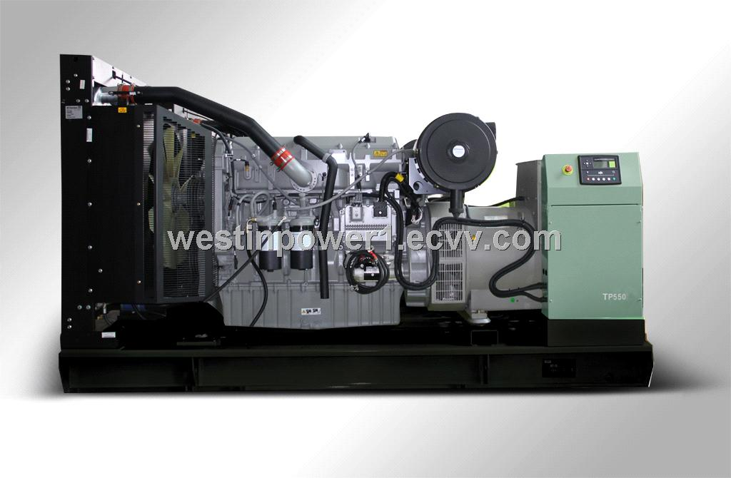 Diesel generator power by Cummins/Perkins/Mitsubishi Stamford alternator power plant