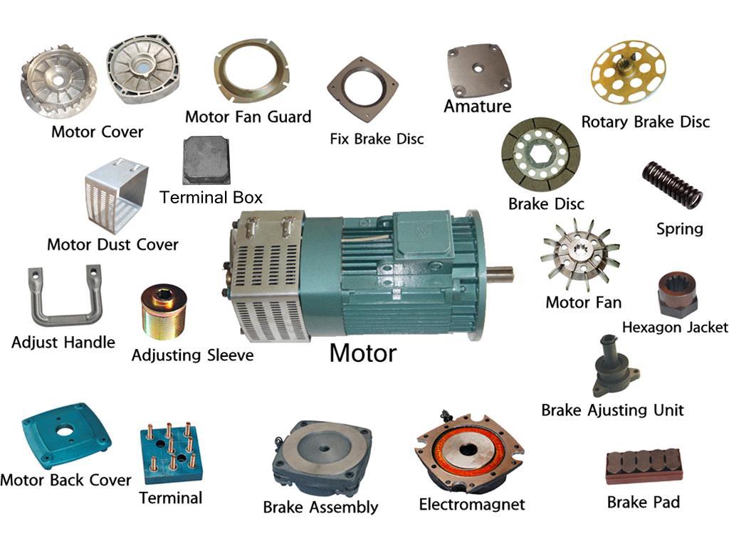 GJJ BAODA ZOOMLION ALIMAKHEK construction hoist motor brake disc
