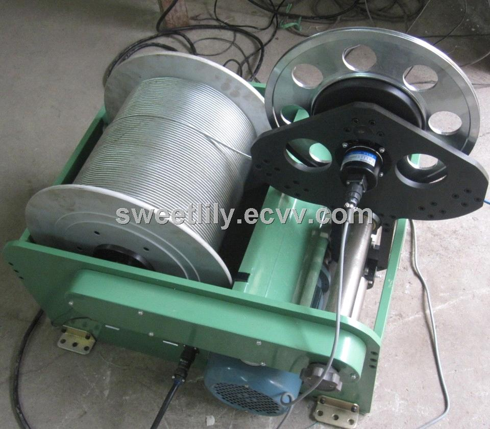 Geophysical Well Logging Winch, well log winch 1000m Geophysical Equipment Price