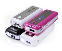 Hot Sale Portable Power Bank 3000mAh for iPhone / iPad / Mp3 / Mp4 / GPS