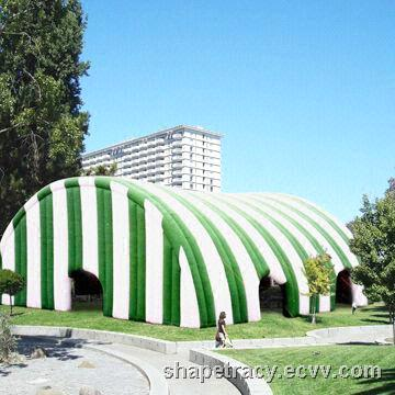 Inflatable Tent  Made of Fabric