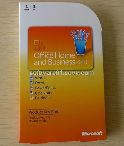 office home and business 2010 product key card pkc box. Black Bedroom Furniture Sets. Home Design Ideas