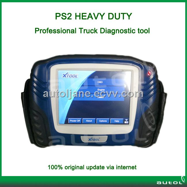 PS2 Heavy Duty Truck Diagnostic Tool With Bluetooth