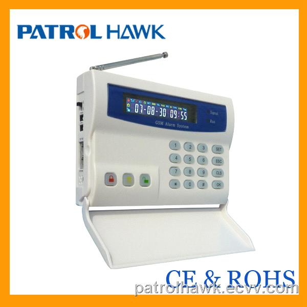 Promotion Hot selling LCD Display and Keypad Wireless alarm system G20