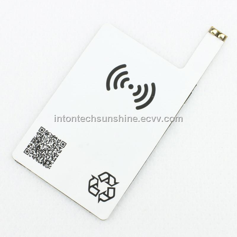 Qi Wireless Transmit Charger Receiver Cards for Samsung galaxy S4(W25-S4)
