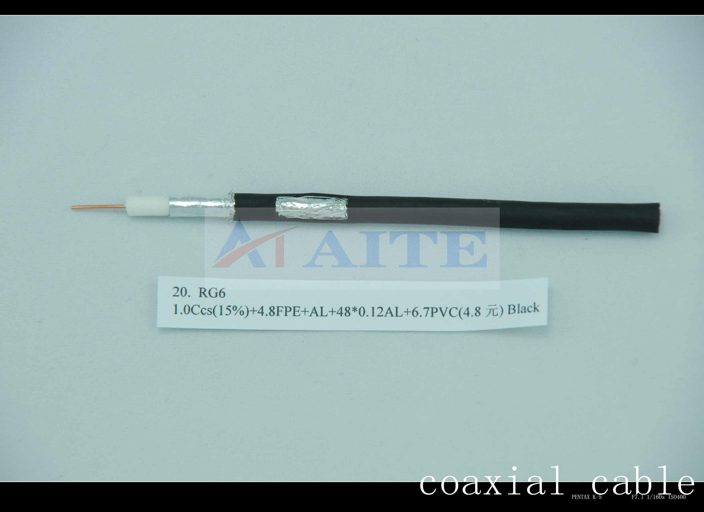 RG6 Coaxial Cable Used For CATV