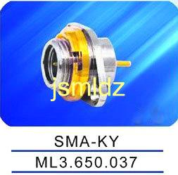 SMA female  connector ,connecting high frequency cable,straight,50ohm impedence,mounted with nut