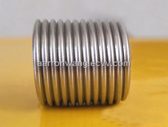 Stainless steel thread inserts for aluminium