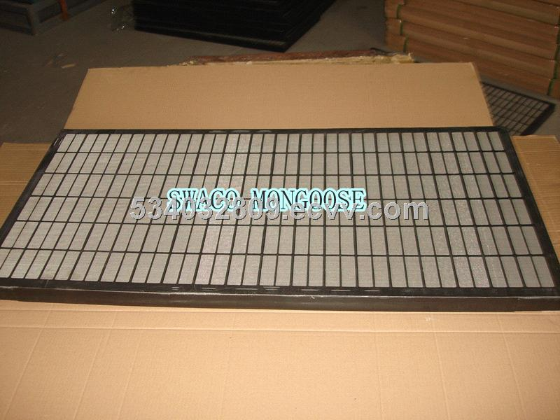 Swaco Mongoose Shale Shaker Screens with Plastic Injection Frame