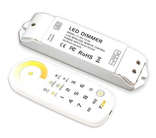 Sync/Zone Control Color tempereature LED CT DIMMER