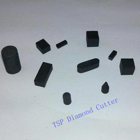 TSP diamond cutter,3x3x3, for oil drilling bits,USA