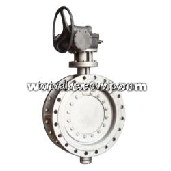 Triple Eccentric Multiplex Ring Metal Seated Butterfly Valve