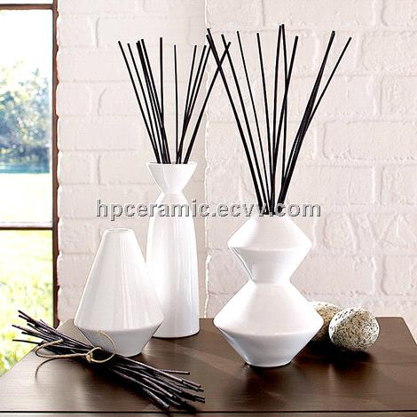 White Ceramic Reed Diffuser Diffuser Bottle Purchasing Souring