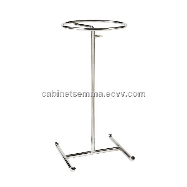 Wire Hat Display For Counter Top With Adjustable Height-Chromed