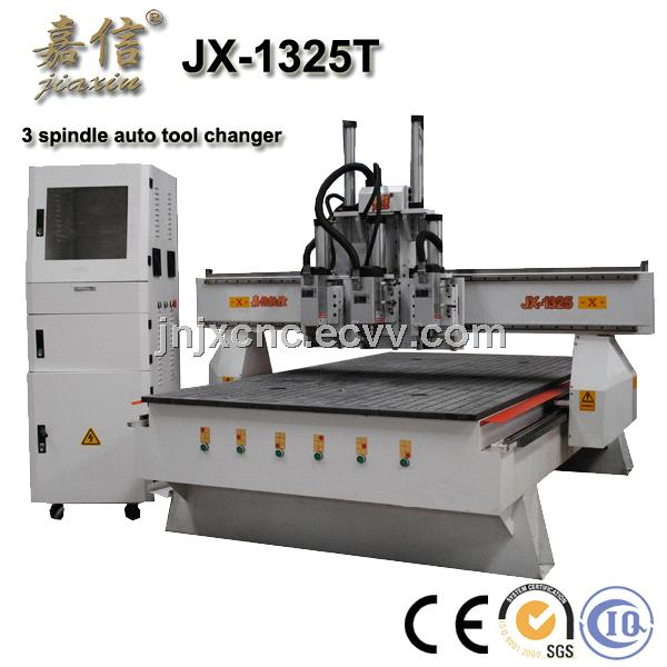 JX-1325T  JIAXIN Wood Door Processing CNC Router with auto tool changer