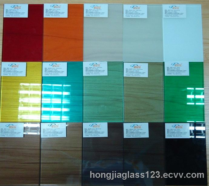 color laminated glass from China Manufacturer, Manufactory