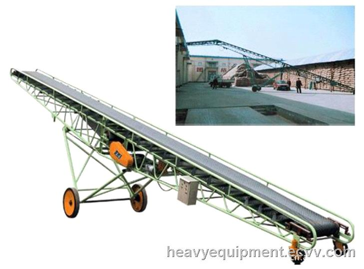 Conveyor Equipment Belt / Portable Coal Belt Conveyors / Fire Resistant  Conveyor Belt