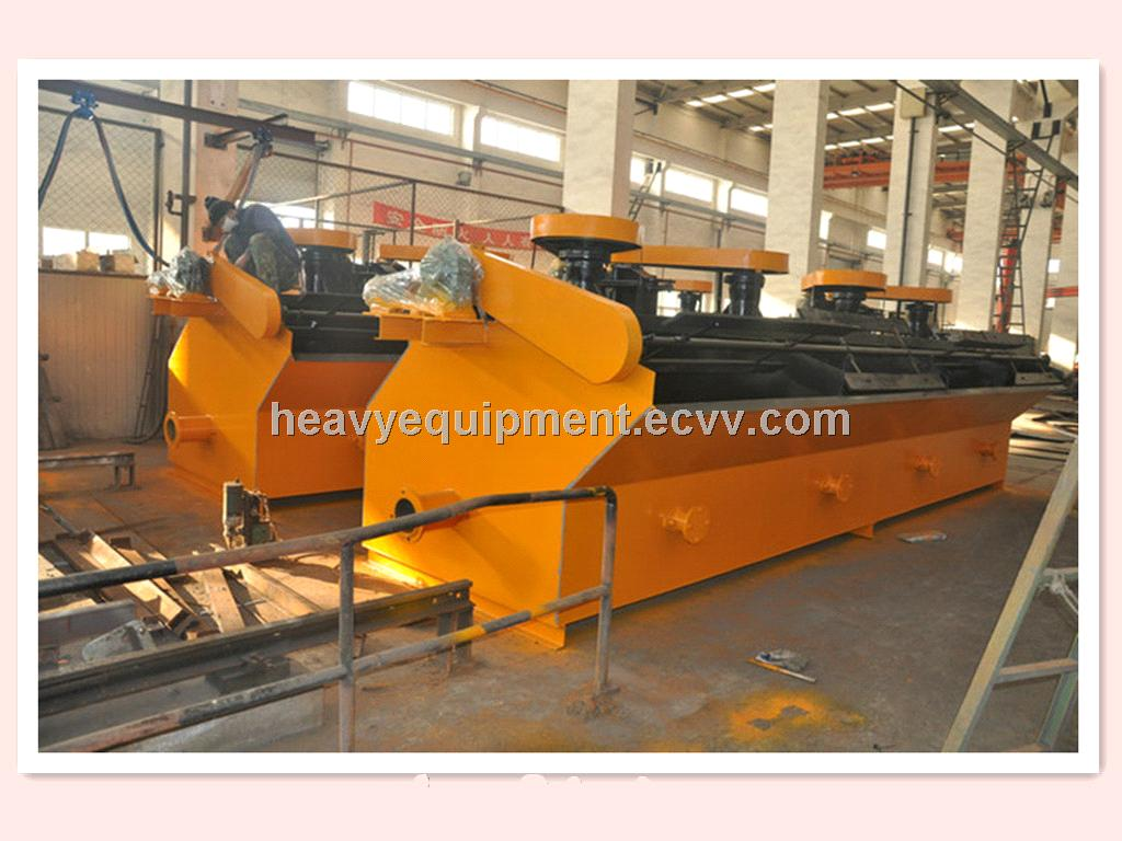 Silver Ore Flotation Machinery / Ore Flotation Machine / Mineral Processing Flotation Cell