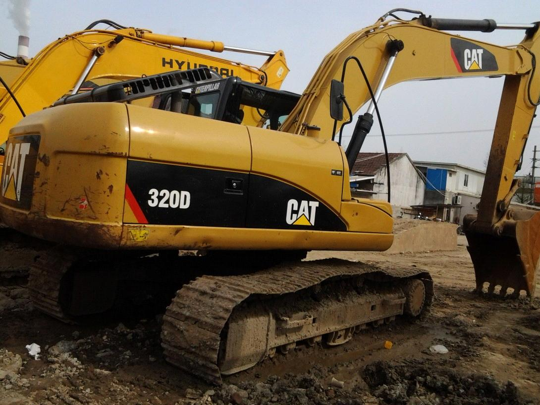 CAT 320D excavator / Used Caterpillar 320D excavator from