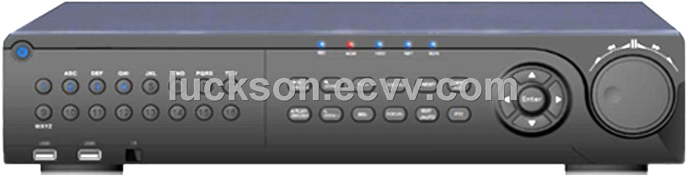 H.264/1CH HDMI output,Loop output signal/Support 16CH D1 playback/16CH DVR(LSL-9816H)