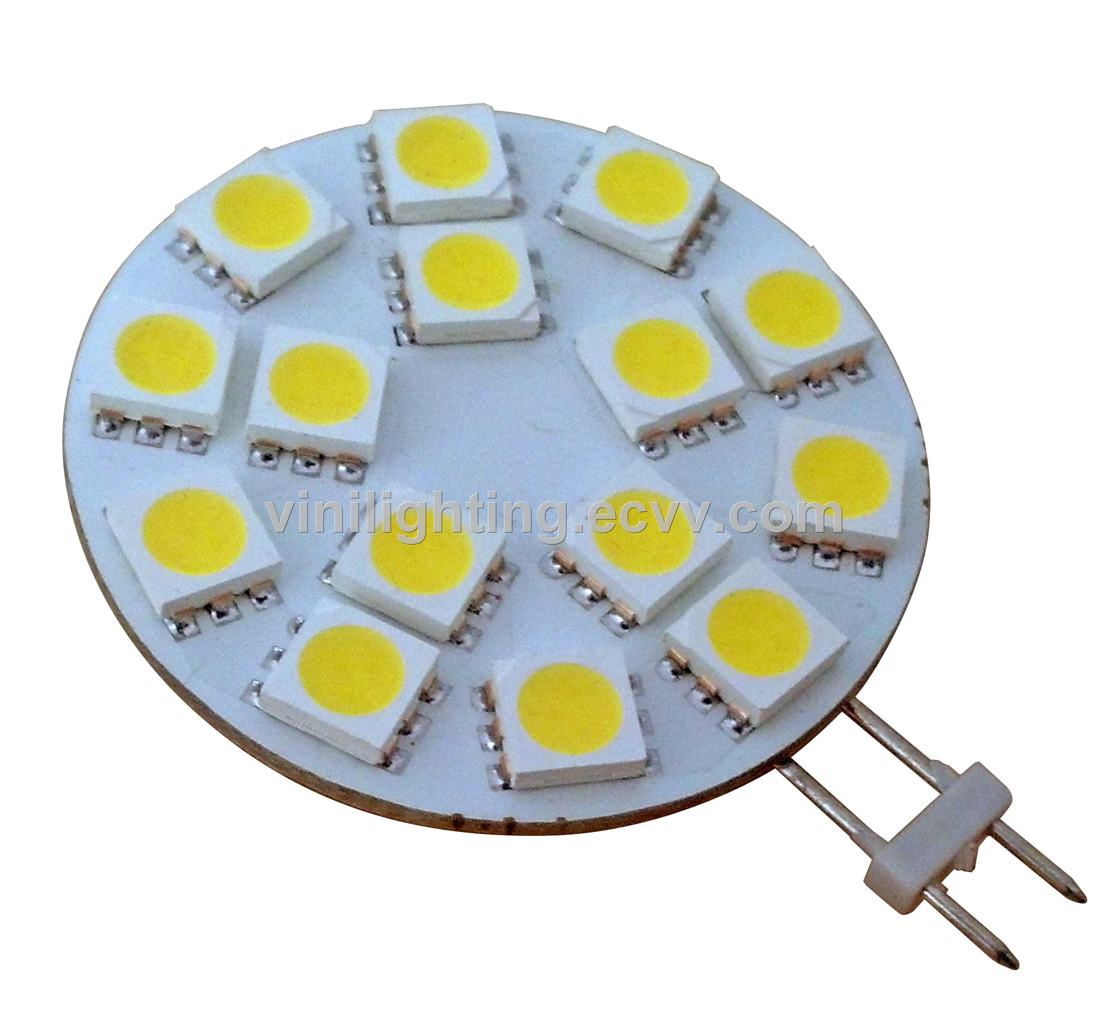 15SMD 5050 Disk LED G4 Light