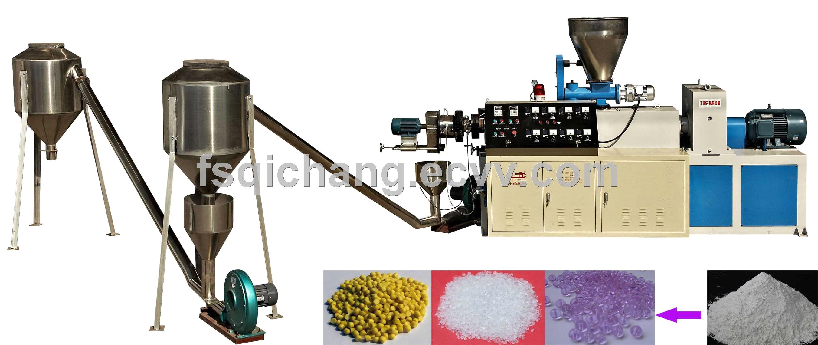 200-400kg/h Recycled Pvc Granules making machine