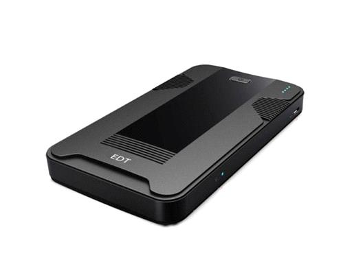 3G router power bank with SIM card slot